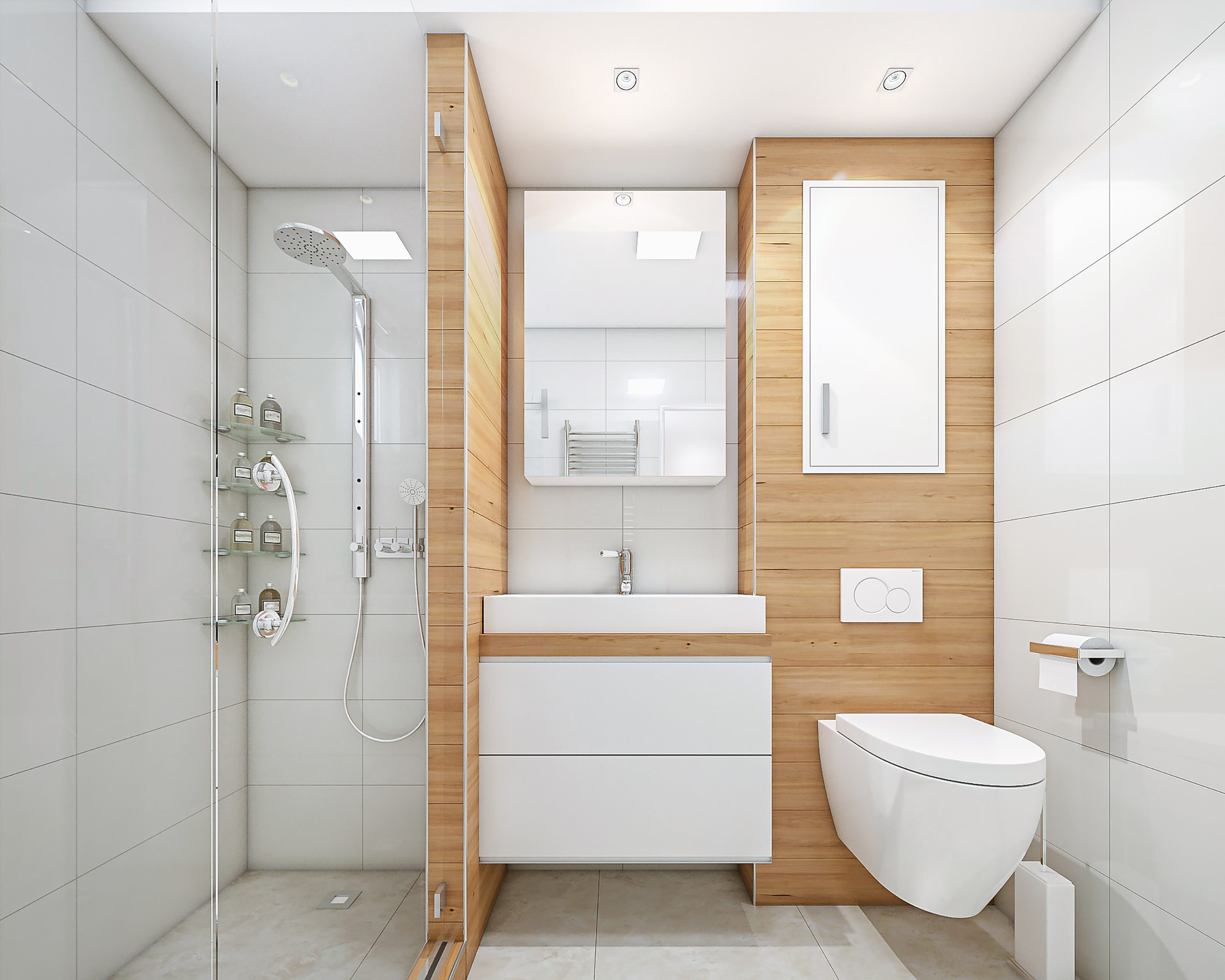 How To Make A Small Bathroom Look Ger Green Renovation